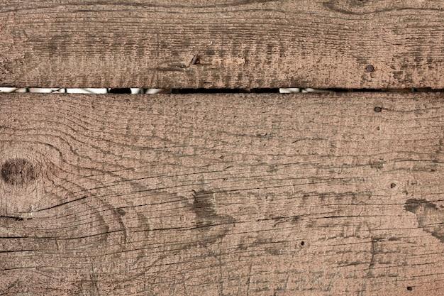 Starzejące się drewno z ziarnem i gwoździami