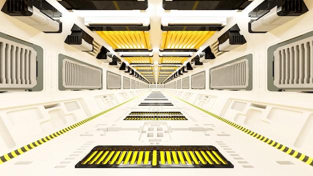 Statek kosmiczny science-fiction