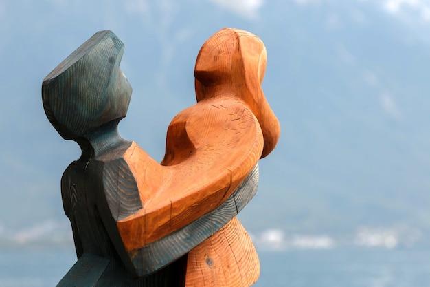 Statua sztuki współczesnej w montreux