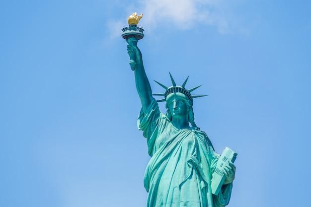 Statua wolności nowy jork amerykański symbol usa usa