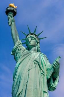 Statua wolności nowy jork amerykański symbol usa