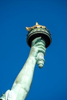 Statua wolności w nowym jorku, usa