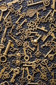 Steampunk stary rocznika metal wpisuje tło na skórze