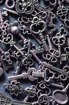 Steampunk stary rocznika metal wpisuje tło