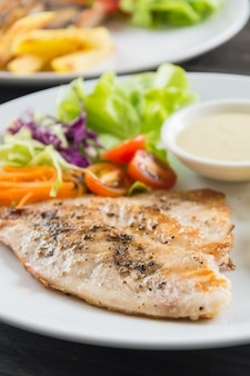Stek rybny