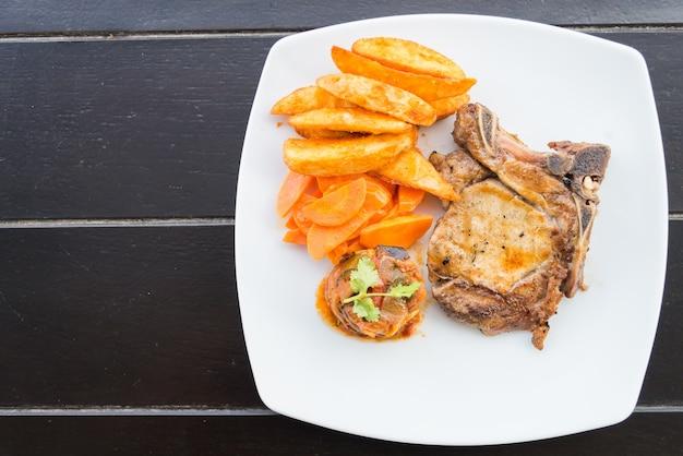 Stek wieprzowy kotlet