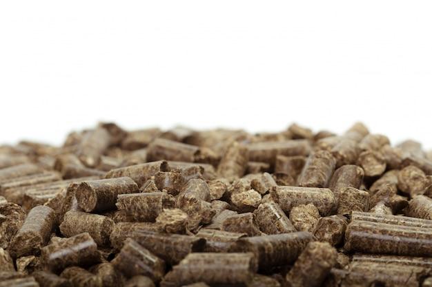 Sterta drewniani wyrka dla życiorys energii, biały tło, odizolowywający