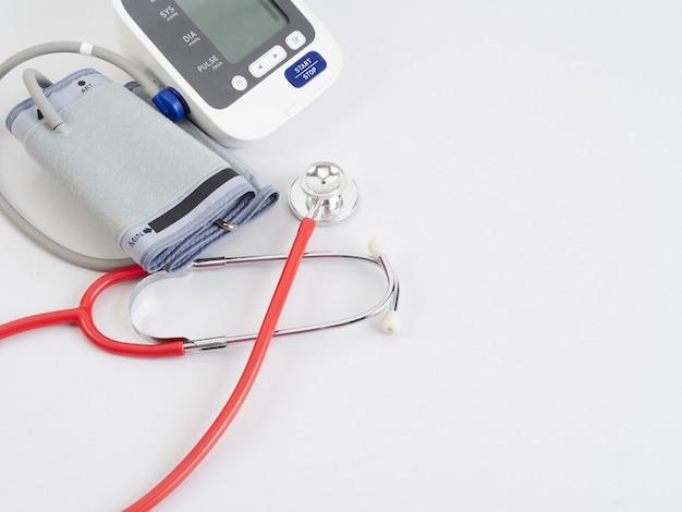 Stetoskop i automatyczny monitor ciśnienia krwi