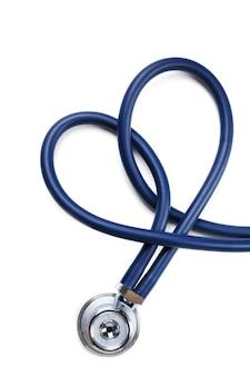 Stetoskop na białym tle