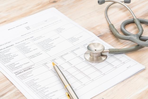 Stetoskop na informacje o pacjencie