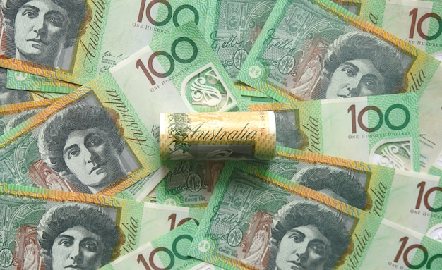 Sto dolarów australijski banknot