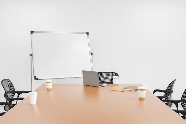 Stół biurowy z tablicą