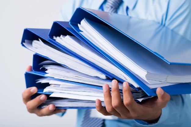 Stos folderów