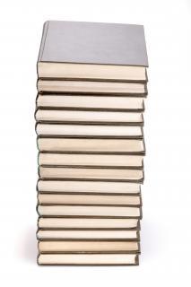 Stos książek, księgarnia