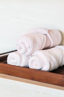Stos ręczników