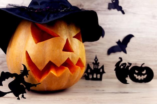 Straszne tło halloween