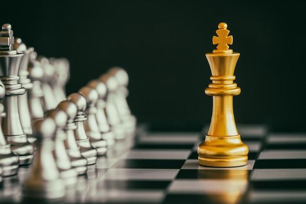 Strategia szachy bitwy wyzwanie wywiad gra na szachownicy.