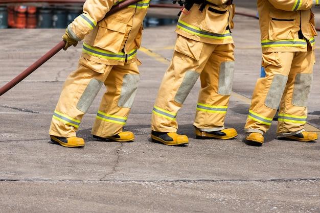 Strażak w akcji