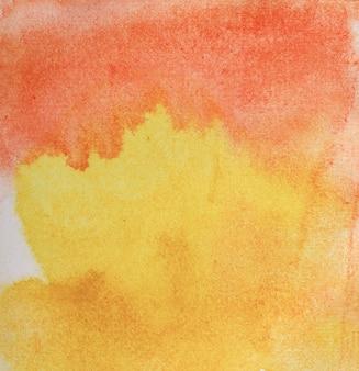 Streszczenie akwarela ręcznie rysowane na pastelowym tle