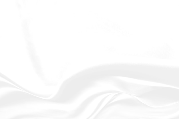 Streszczenie białe tło i szary odcień, miękka fala tkaniny nakładająca się z nowoczesną koncepcją cienia, miejsce na tekst lub wiadomość internetową i projekt książki