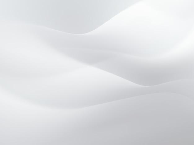 Streszczenie białe tło z gładkimi liniami