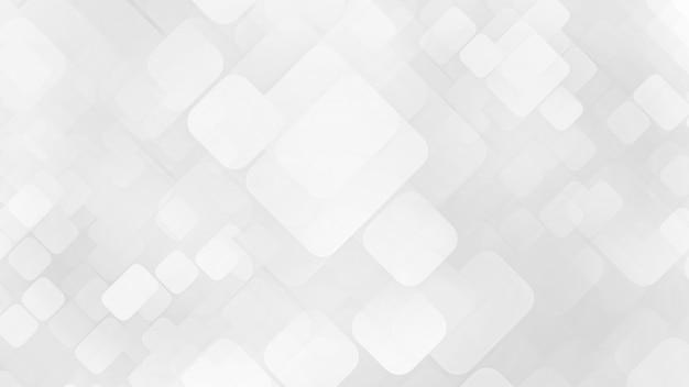 Streszczenie białe tło z kwadratami