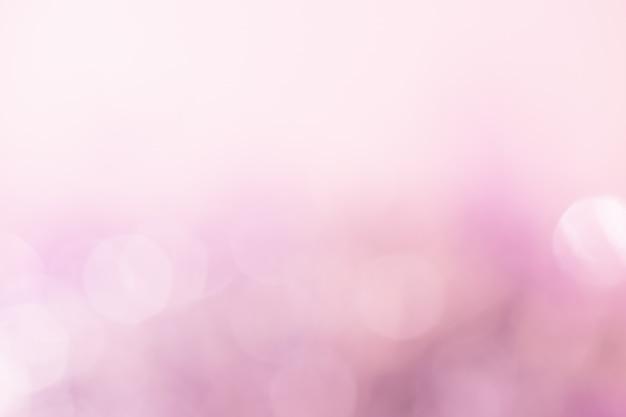 Streszczenie bokeh światło. kolor brzoskwiniowy.