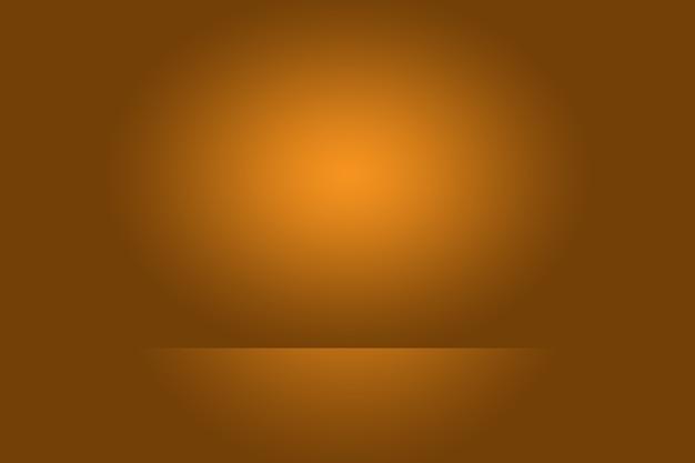 Streszczenie brązowy gradient dobrze używany jako tło do wyświetlania produktu.