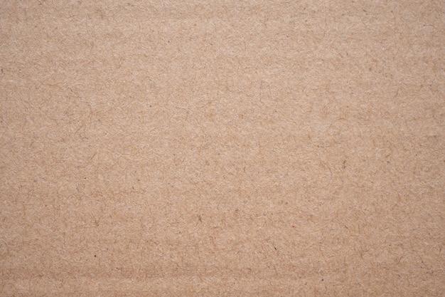 Streszczenie brązowy papier z recyklingu papieru tekstury tła