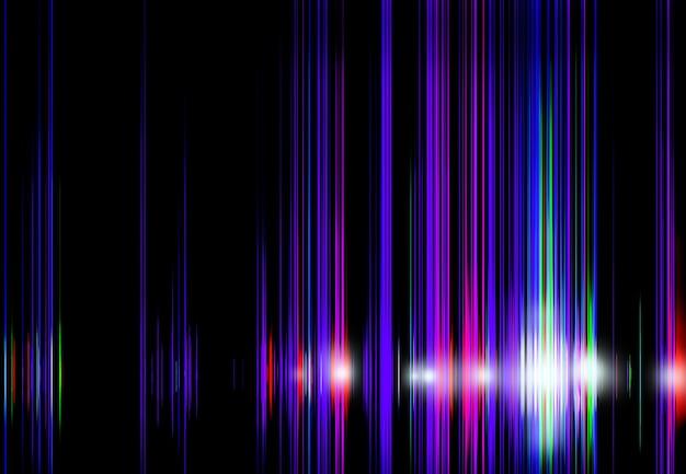 Streszczenie ciemne futurystyczne tło neonowa poświata cyberpunk nowoczesna tekstura