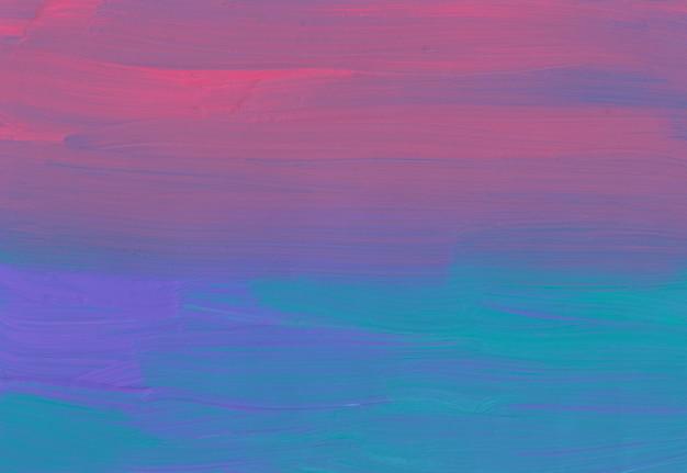 Streszczenie ciemnofioletowe różowe i morskie zielone tło ombre