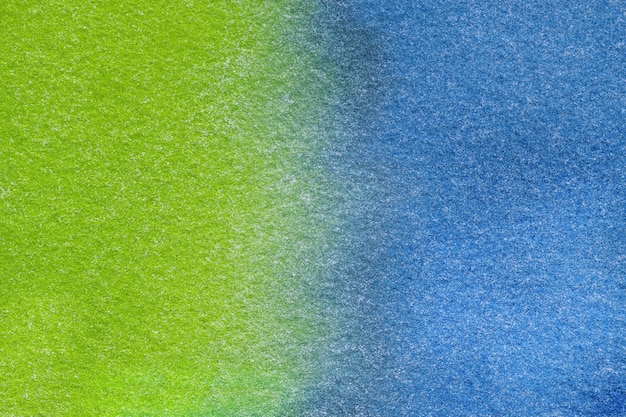 Streszczenie ciemnoniebieskie i zielone tło akwarela