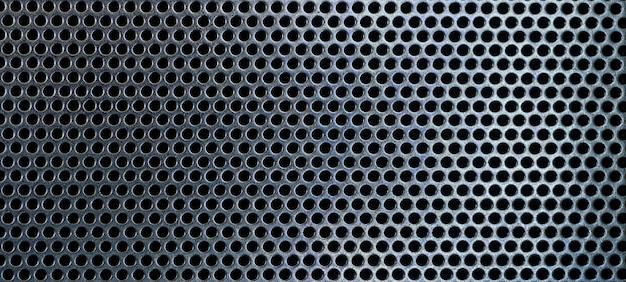 Streszczenie czarne metalowe siatki wzór tekstury czarne metalowe tekstury puste dla projektantów