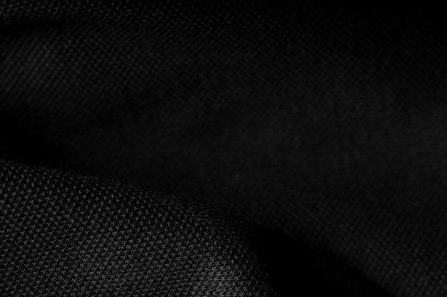 Streszczenie czarne tło, zbliżenie tekstury w kolorze czarnym