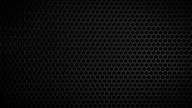 Streszczenie czarnej metalicznej siatki wzór teksturyczarny metal tekstury pusty dla projektantów
