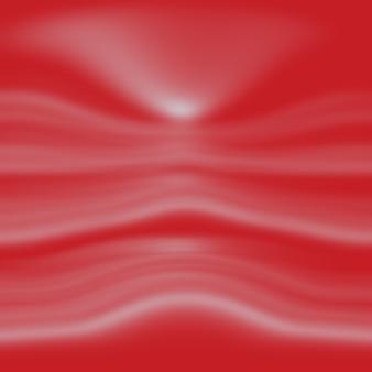 Streszczenie czerwonym tle światła studio z gradientem.