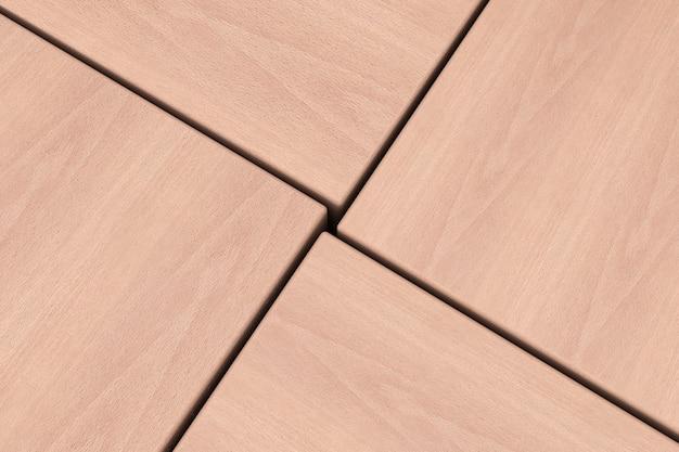Streszczenie drewniane kostki bloku tła ekstremalne zbliżenie. renderowanie 3d