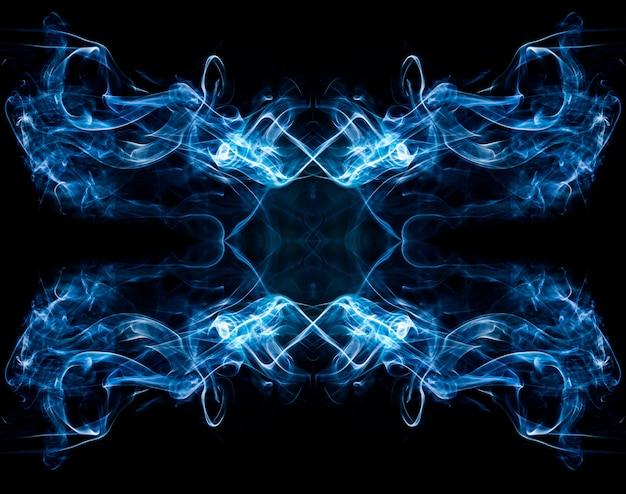 Streszczenie dymu na czarno