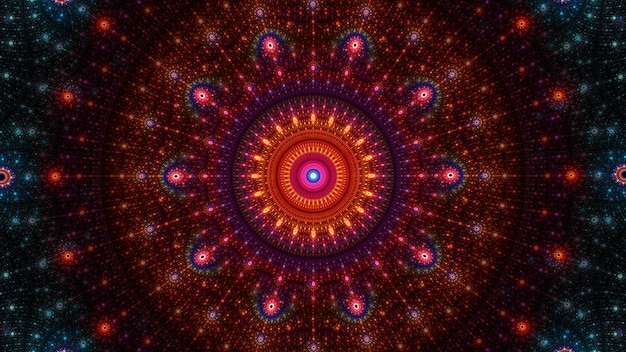 Streszczenie fraktalna sztuka tło wzór. piękna fraktalna ilustracja do kreatywnego projektowania graficznego