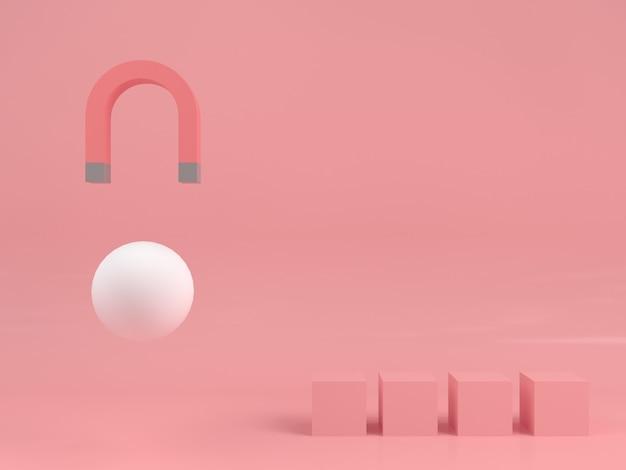 Streszczenie geometryczny kształt pastelowy kolor szablon minimalistyczny nowoczesny styl