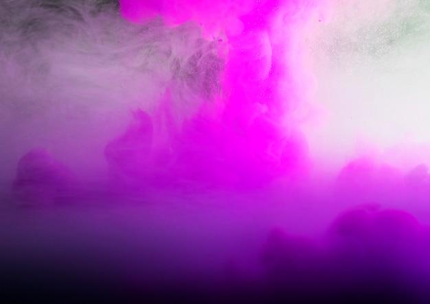 Streszczenie gęsta różowa falująca mgła