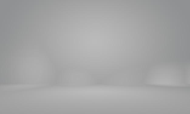 Streszczenie gładkie pusty szary studio dobrze wykorzystać jako tło, raport biznesowy, cyfrowy, szablon strony internetowej, tło.
