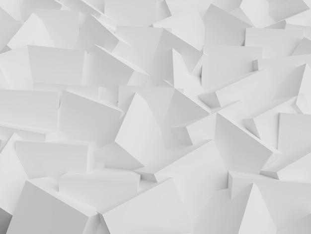 Streszczenie jasnym tle z geometrycznymi kształtami wielokątów