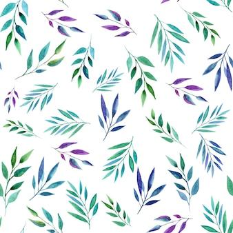 Streszczenie kolor gałęzi, wzór. styl akwareli.