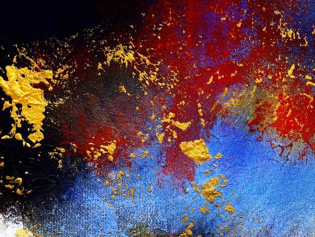 Streszczenie kolorowe farby olejne wielu kolorów.