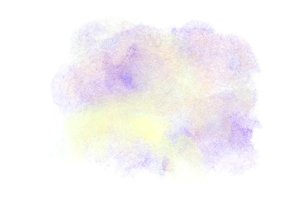 Streszczenie kolorowe ręcznie rysować tło akwarela.