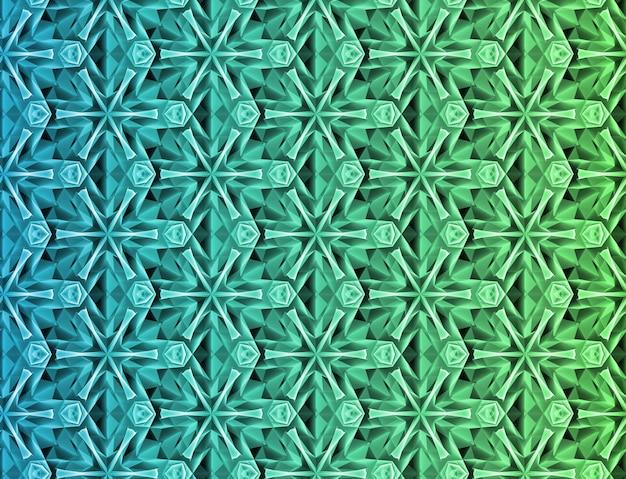 Streszczenie kolorowe tło geometryczne na podstawie siatki heksagonalnej