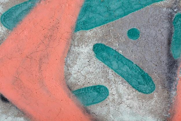 Streszczenie kolorowe tło graffiti ścienne