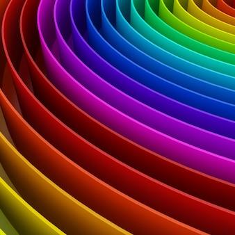 Streszczenie kolorowe tło tęczy