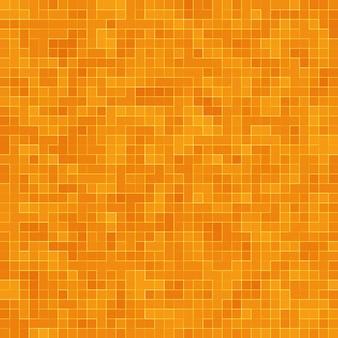 Streszczenie kolorowy wzór geometryczny, pomarańczowy, żółty i czerwony mozaika kamionkowa tekstura tło, nowoczesny styl tle ściany.
